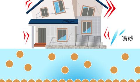 地盤ロック工法による液状化対策・地盤改良工事と家の傾き直し工事